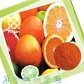 100% Natural de naranja en polvo drogas