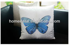 Natural color top quality digital printing 100% cotton cushion