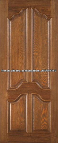 European style int rieur portes en bois design dj s110 for Porte en bois interieur