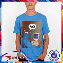 Custom made sublimation popular comfy printing t-shirt
