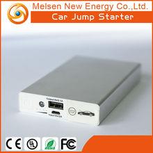 6000mah Diesel & gas 12v rechargeable battery pack super slim powerful mini auto jump starter lipo car battery