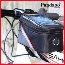 For iphone samsung mobile phone bicycle mount bag