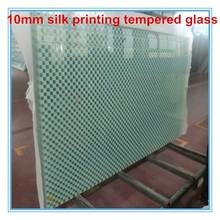 AS/NZS ISO &CE high quality hot sale safety silk screen printing glass