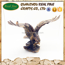Decorative eagle made by resin material for sale