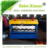 XN-1050 high rib roofing panel roll forming machine roof tile sheet rolling forming machine step tiles machine