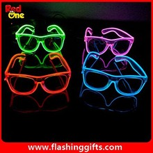 more color Blue Green or Red Wholesale el glasses Novelty party supplies