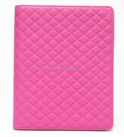 Simple style high quality pu leather case for ipad 3 with stand