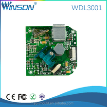 WDL3001 OEM/ODM 1D Laser embedded QR bar code Barcode Reader Scanner Module Engine Data Collect TTL with bulit in POS printer