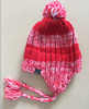 Hot Sale Unisex Soft Acrylic Rib Knitting Stripes Stretchy Earflap Hats Sport Hats