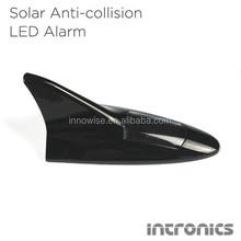 Anti Collision Solar Power LED Flash Alarm Taillight Shark Fin Type
