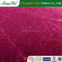2015 dyeing micro velour garment changshu factory