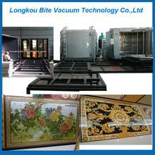 glass coating machine Mosaic tiles gold vacuum plating machinery/equipment