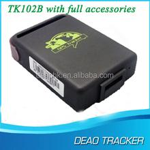 Google Tracking System High accuracy car vehicle gps tracker tk102-2