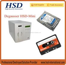 UL hard disk & tape degauss in 30-50s