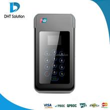 Visa,Master card payment terminal,Mini pos terminal,Phone connection,Bluetooth(DTPOS3356)