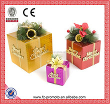 Merry christmas paper gift box/colorful folding gift box