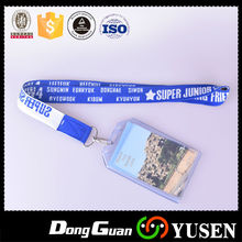 Factory Driect Sale Best Quality Promotion Polyester Lanyard Jacquard