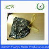 Wholesale 100% poly PE black drawstring garbage bag