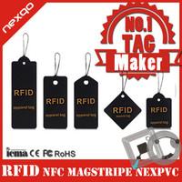 New Product Custom Size Fashion Printing RFID Garment Paper Hang Tags