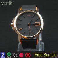 Best selling big dial wrist watches for men top brand filp flop design hip hop quality sport watch