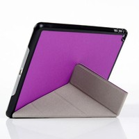 Slim Magnetic Smart Cover Back Case Sleep Wake For Apple iPad Air 2