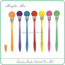 2015 Fancy novelty flashing led light funny promotional pen