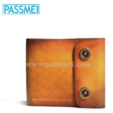 Clasical genuine leather best mens wallet brand