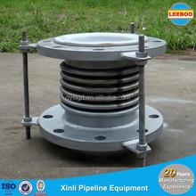 High flexibility metal PTFE pipe compensator of 5 convolution