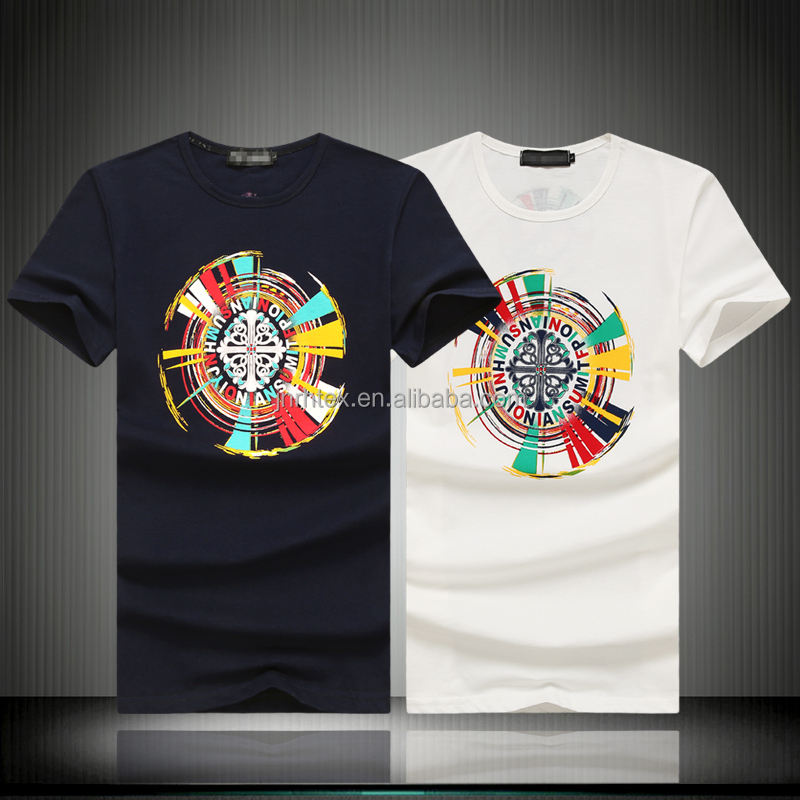 Latest designs 100 cotton custom screen printing t shirts for Screen printing designs for t shirts