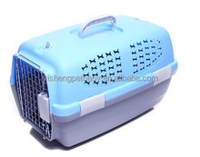 Custom Plastic Convenient Pet Carrier Outside Dog Cage With Wheels Pet Cages,Carriers & Houses