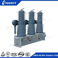 ZW32-40.5 33kv outdoor 3 pole mounted type automatic circuit recloser vacuum circuit breaker