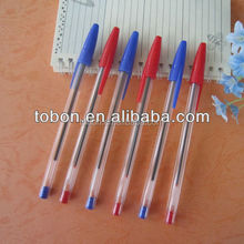 Plastic simple ballpoint pen cheap pen