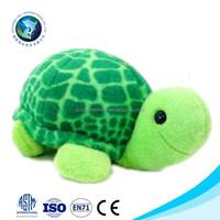 Promotional wholesale green plush turtle toy custom fashion soft stuffed mini plush turtle