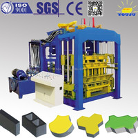 Best quality QT8-15 flyash foam brick machine best selling in alibaba
