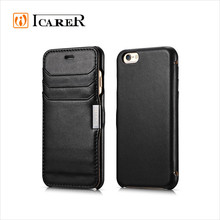 Genuine Leather Wallet Case For Apple iPhone 6 / Plus, Flip Leather Case For iPhone6