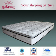4D Fabric Supreme Bamboo Charcoal Latex Spring Mattress