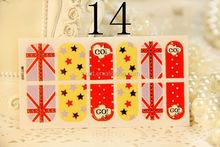 2012 new hot design polish nail sticker
