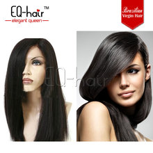 Cheap front lace wig,brazilian hair lace front wig,natural looking brazilian human hair wig