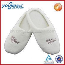 China new design popular terry thong slippers
