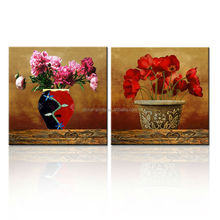Vintage Wall Decor Canvas Picture/Art Supplier/Flower Pattern Decorative Painting