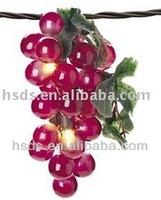 10-cluster fruit grape string light