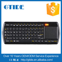 bluetooth wireless type and ultra thin style touchpad keyboard mouse for smart tv