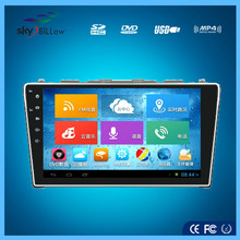 For vw bora universal car dvd player in dash dvd player with built in gps and android 4.2 operation system