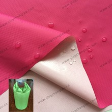 TPU Coated 30D Nylon Diamond Ripstop Fabric with Water Repellent for Lightweight Dry Storage Bag