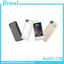 New coming 2016 hot product external power case for iphone 6S MFI 3200mAh battery case fast charging colorful power bank case