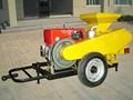 las ventas caliente 5ty de la serie de la trilladora de maíz