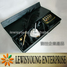 Classical feather pen gift set supplier