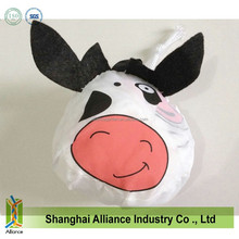 Animal Cow shape Foldaway Shopper bag for promotion