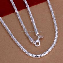 Latest plain men's chain necklace