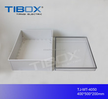 TIBOX IP66 Plastic Outdoor Electrical Junction Enclosure ABS Waterproof Box